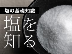 塩の基礎知識、塩を知る